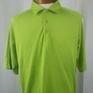 Nike Golf Fit Dry Mens Golf Polo Shirt Green Large